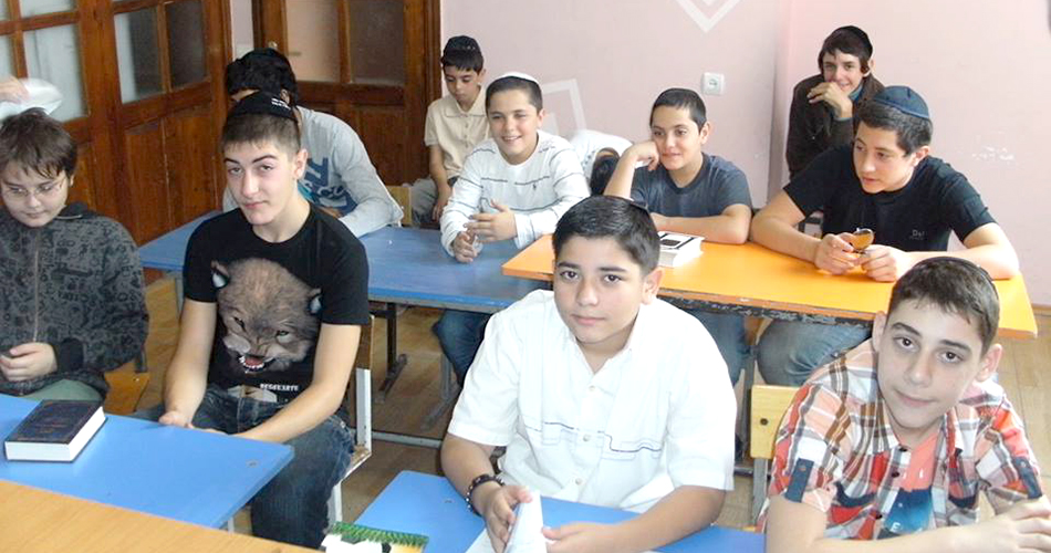 boy's class